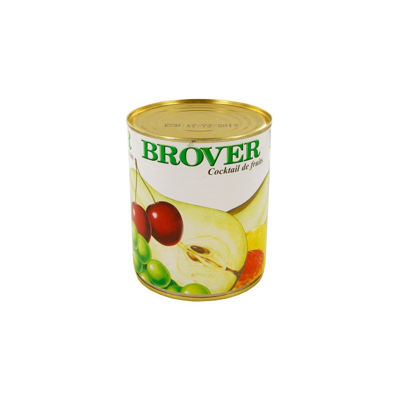 Cocktail de fruits brover 850 ml cerf dellier for Cocktail de fruit