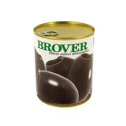 Olives noires dénoyautées 850 ml