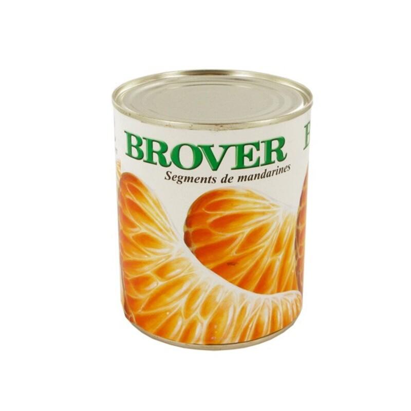 Segments de mandarines 850 ml