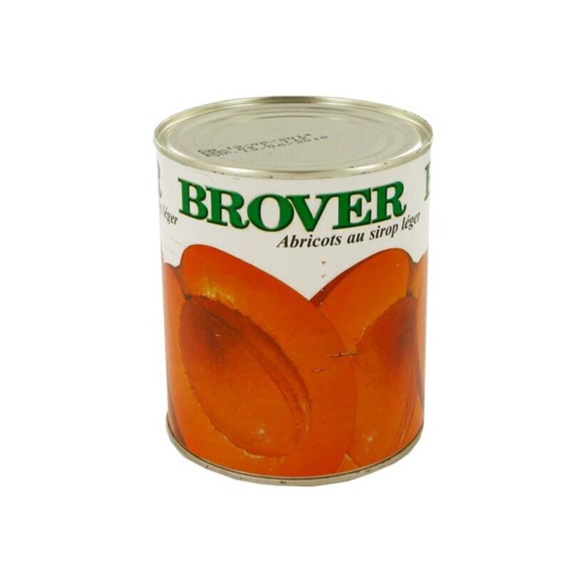 Abricots au sirop léger 2 650 ml
