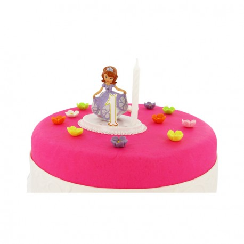 Kit bougie Princesse Sofia