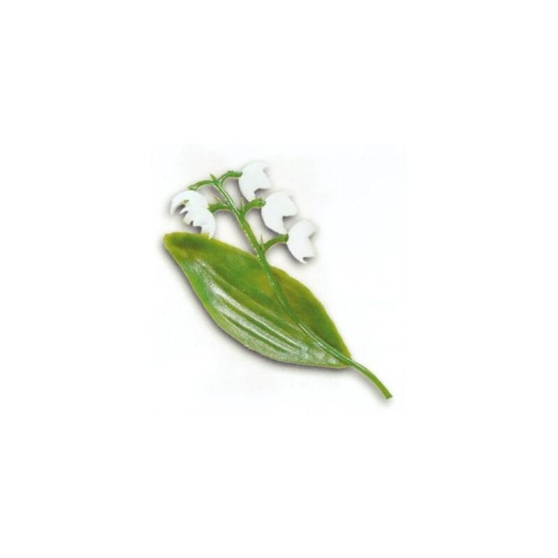 Décor Muguet 1er Mai plastique (x144)