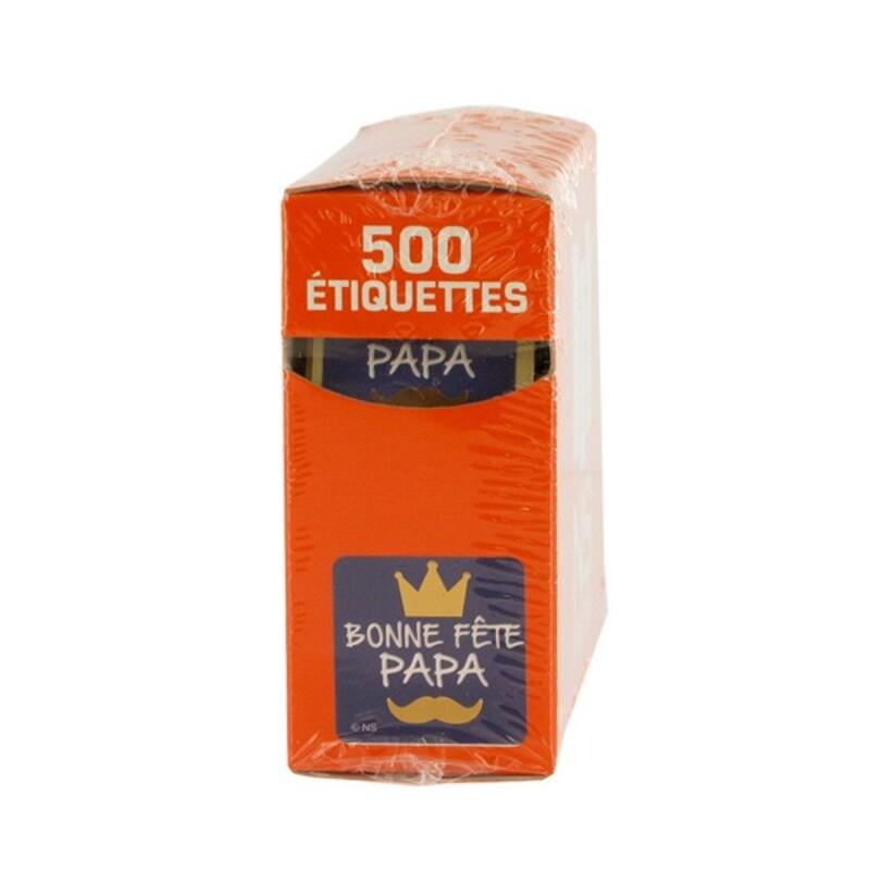 Etiquette adhésive Bonne Fête Papa x500