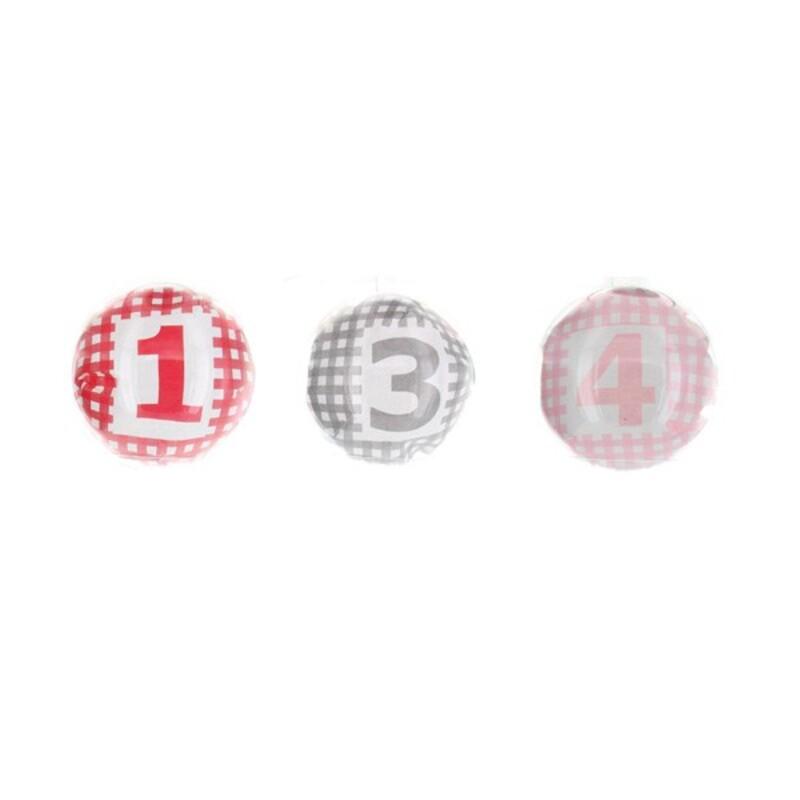 Boîte à dragées boule transparente x3