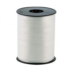 Bolduc satiné blanc 5 mm (500 m)