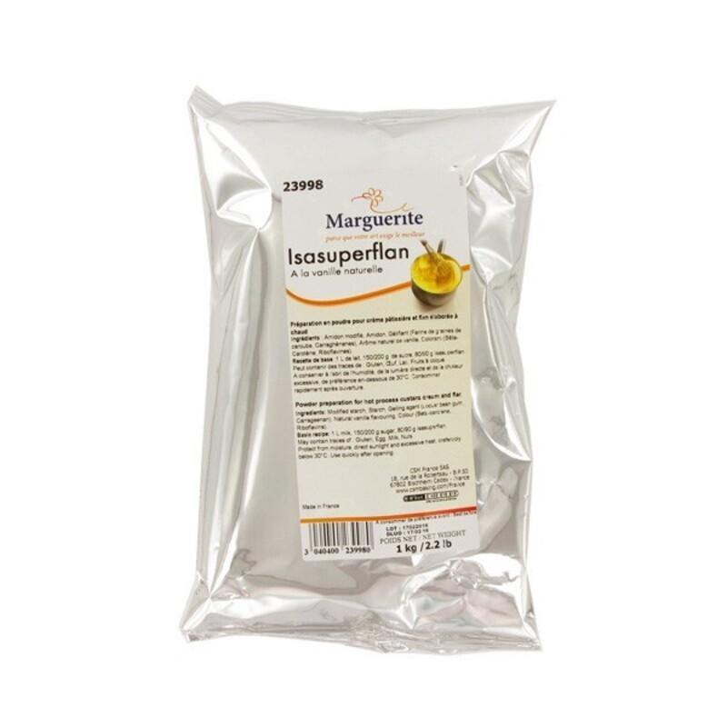 Préparation crème pâtissière et flan Tradextra 1 Kg