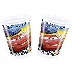 Gobelets en plastique Cars (x8)
