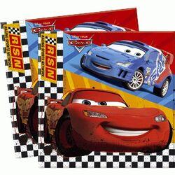 20 Serviettes en papier Cars
