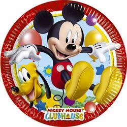 Assiettes en carton Mickey (x8)