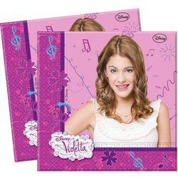 20 Serviettes en papier Violetta