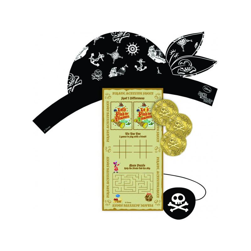 kit chasse au tr sor jake le pirate jeux enfants cerfdellier com. Black Bedroom Furniture Sets. Home Design Ideas