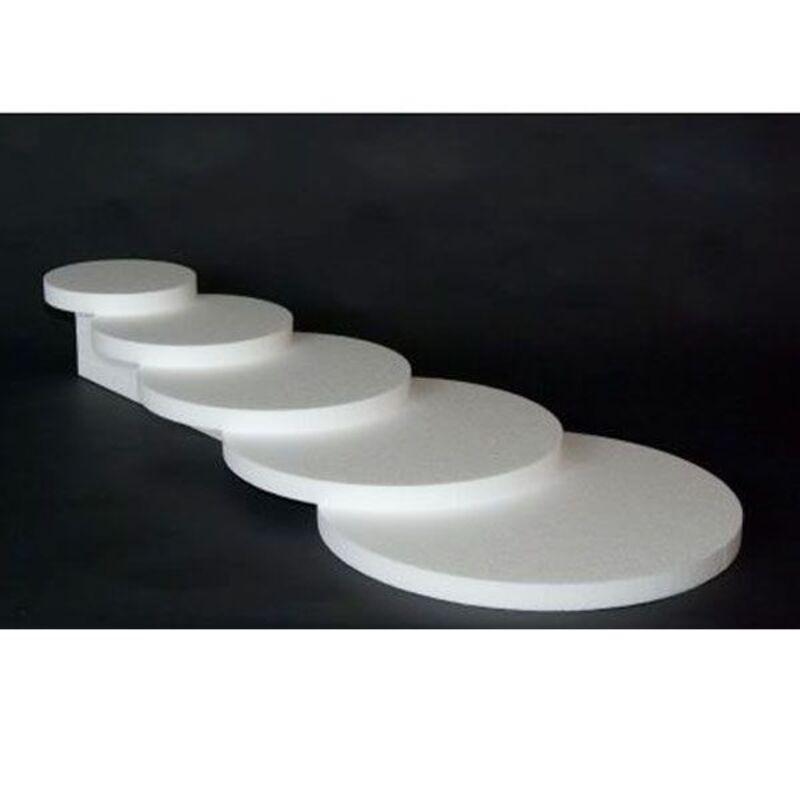 Présentoir polystyrène cascade 5 plateaux