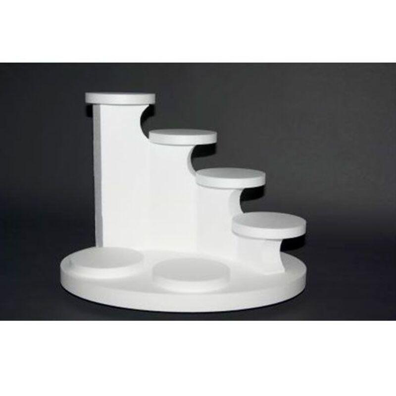 Présentoir polystyrène escaline