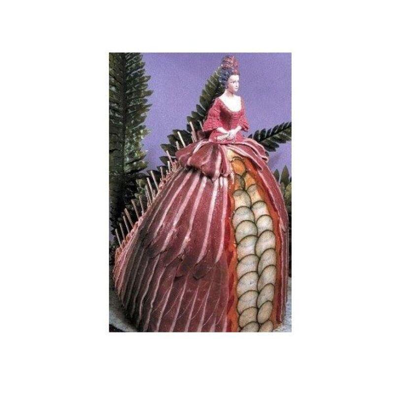 Présentoir polystyrène Robe de Marquise