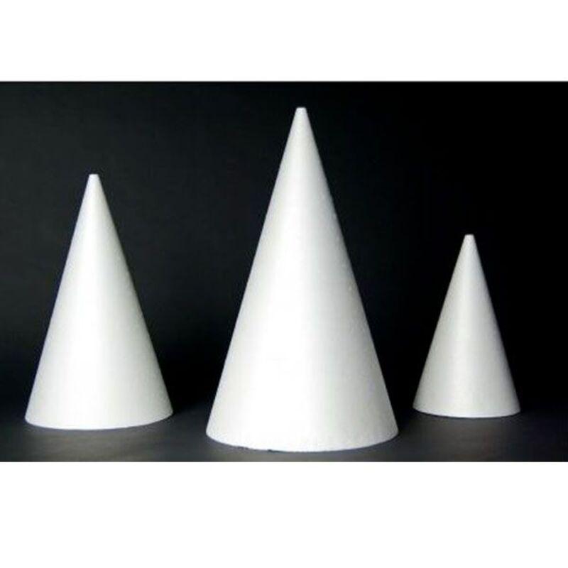 Présentoir polystyrène cône