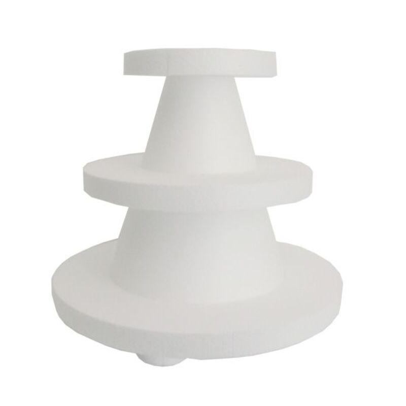 Présentoir polystyrène cônique