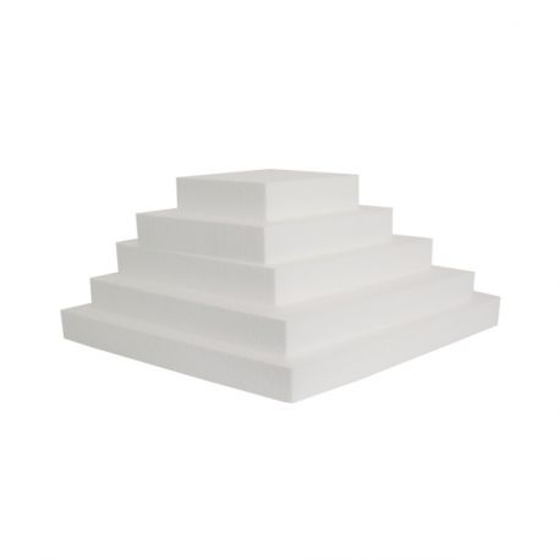 Présentoir polystyrène pyramide losange