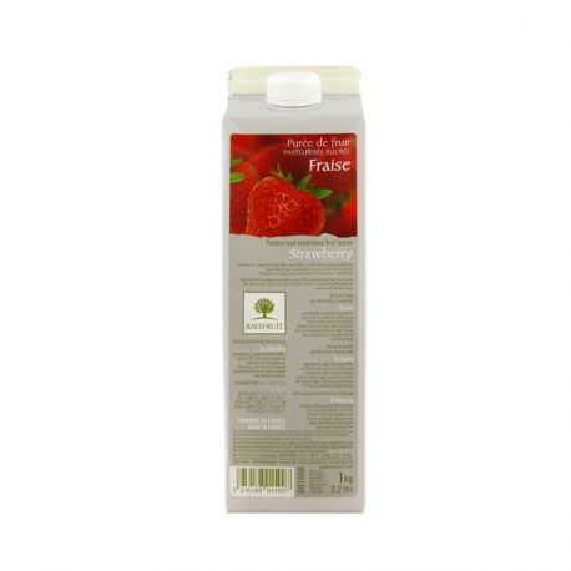 Purée de fraises Ravifruit 1 kg