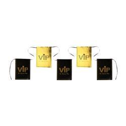 Banderole noir et or VIP