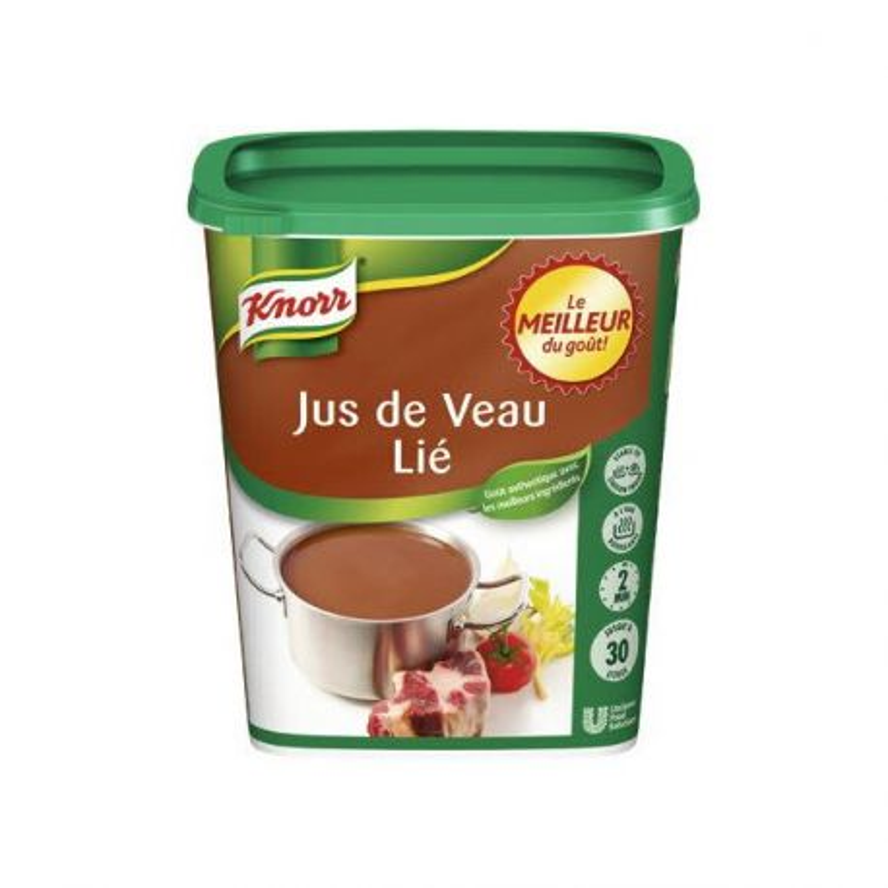 Jus de veau lié Knorr 750 g