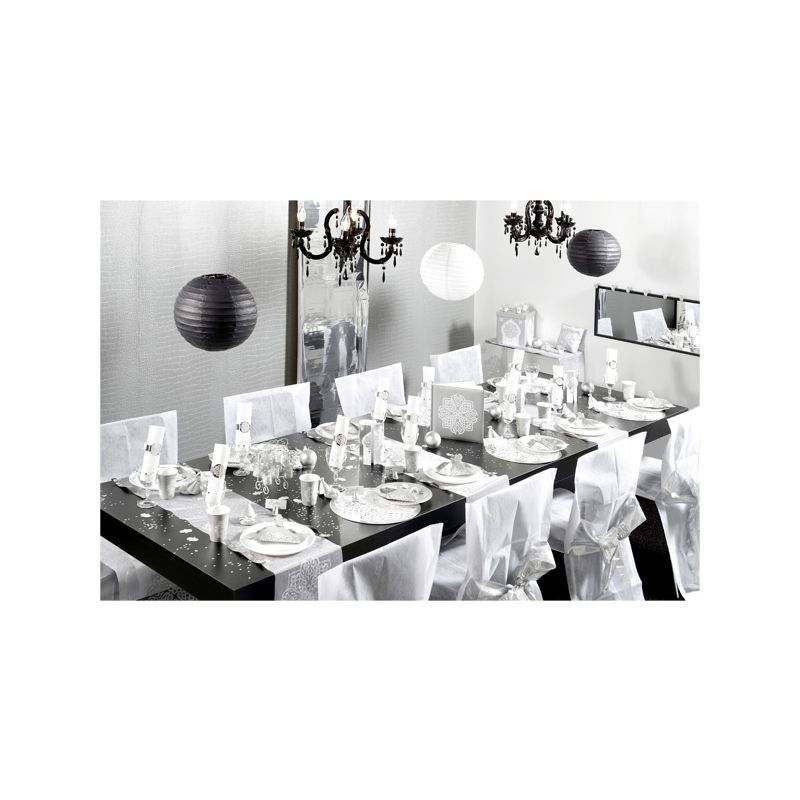 set de table oriental argent x6 deco de table cerf. Black Bedroom Furniture Sets. Home Design Ideas