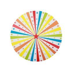 Set de table multicolore Cirque (x6)