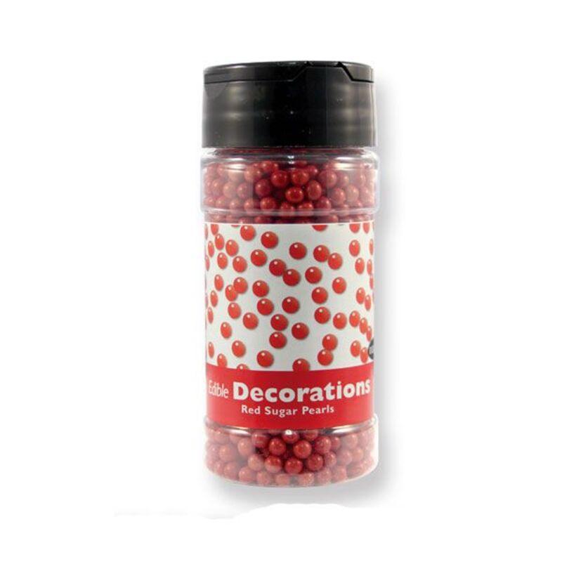 Perles de sucre rouges PME