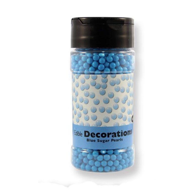 Perles de sucre bleues PME