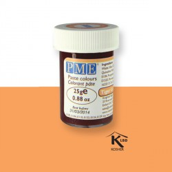 Colorant pâte orange PME 25 g
