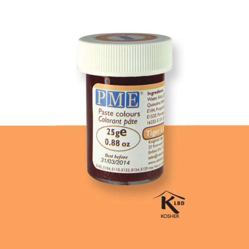 Colorant pâte orange PME 25 g