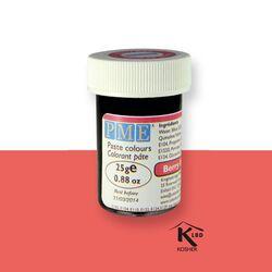 Colorant pâte rouge PME 25 g