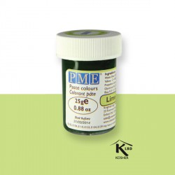 Colorant pâte vert citron PME 25 g