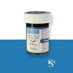 Colorant pâte bleu océan PME 25 g