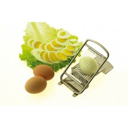 Coupe-œufs inox 10 quartiers