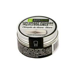 Colorant poudre blanc Patisdécor 8 g