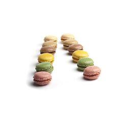 Macarons assortis 4 saveurs (x220)