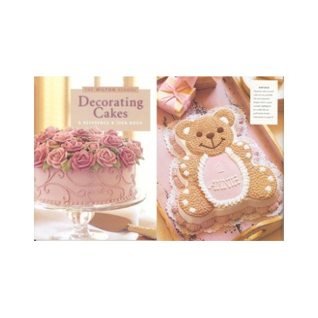 "Livre ""Decorating Cakes"" de Wilton"