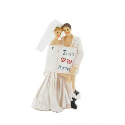 Couple de mariés Just Married
