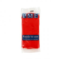 Pâte à sucre rouge PME 250 g