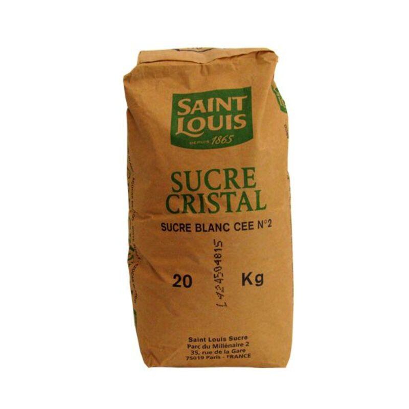 Sucre cristal Saint Louis 20 kg