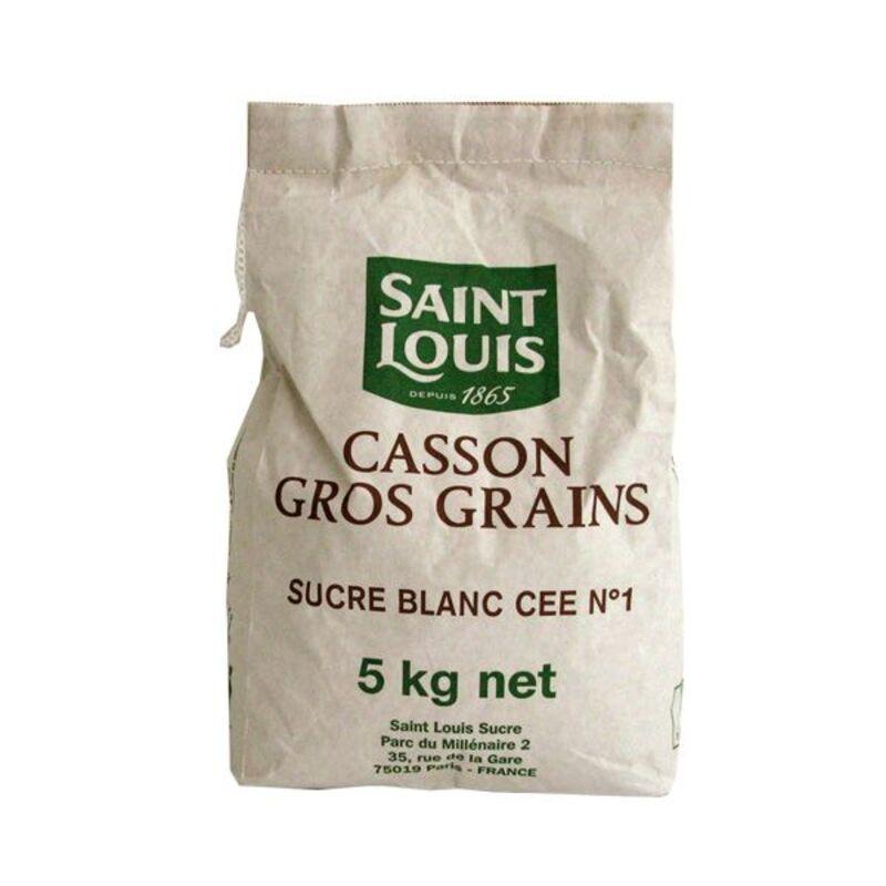 Sucre gros cassons n°10 Saint Louis 5 kg