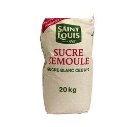 Sucre semoule Saint-Louis 20 kg