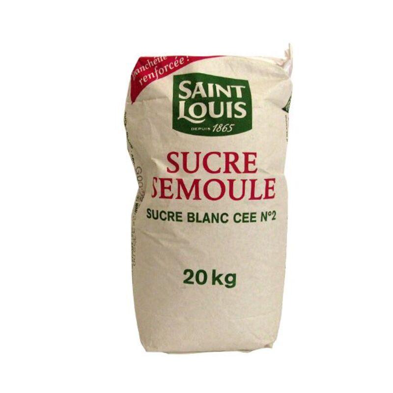 Sucre samoule Saint-Louis 20 kg