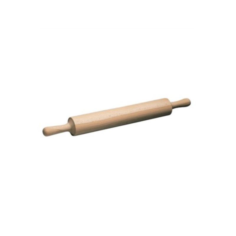 Rouleau à pâtisserie bois à poignées 50 cm