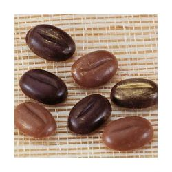 Moule chocolat polycarbonate Grains de café