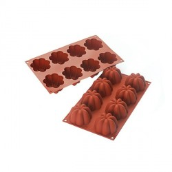 Moule silicone 8 charlottes