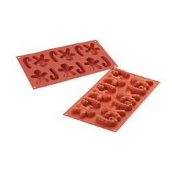 Moule silicone 15 pains d'épices