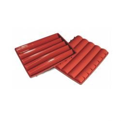 Moule silicone 5 barres arrondies