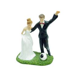 Couple de mariés Ballon de Football
