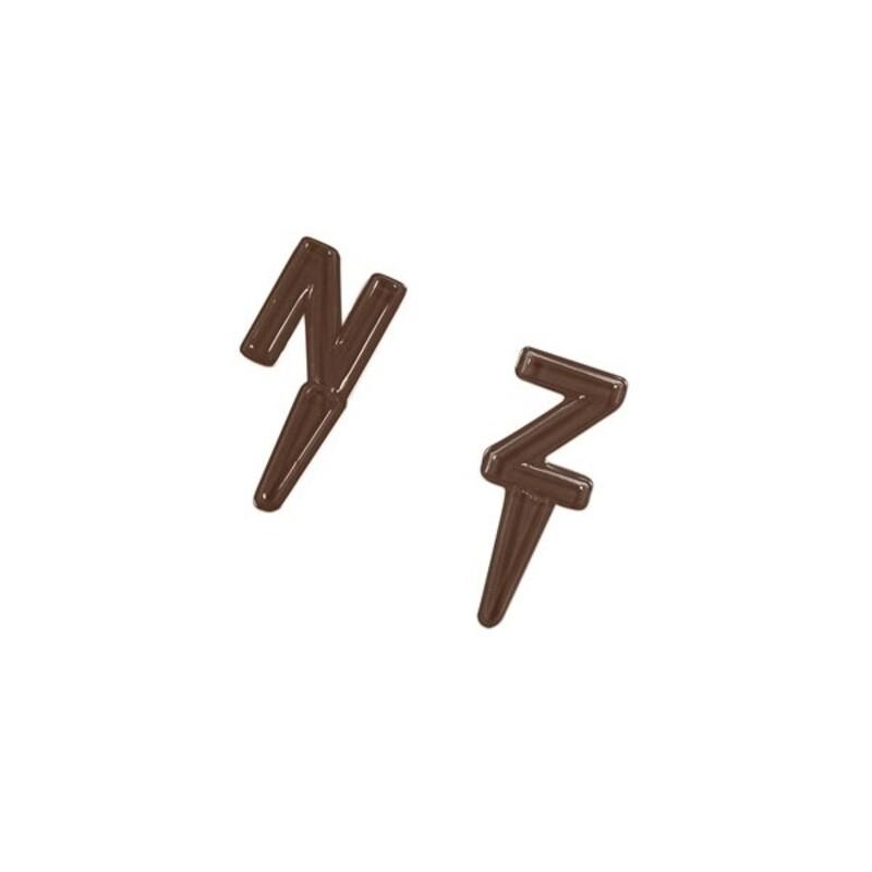 Moule à chocolats lettres de l'alphabet N-Z